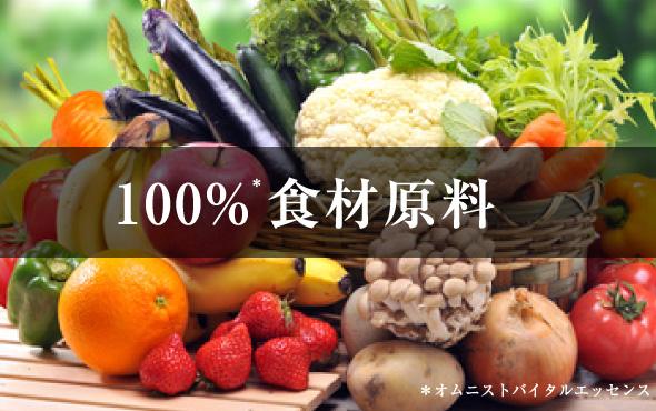 100%食材原料